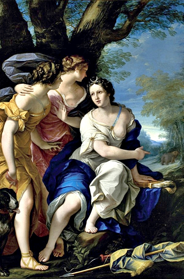 Felice Torelli - Diana and nymphs