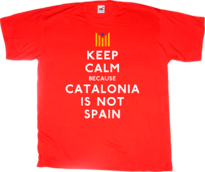 catalonia catalan freedom independence referendum spain is different 11 septembre 11S t-shirt ephemeral-t-shirts