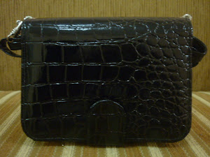 NEW WHPO  Croco Hitam isi 2 HP BB