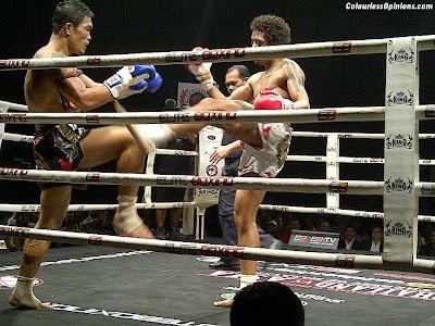 Thailand vs Challenger series 2012 Thailand vs Asia in Malaysia Muay Thai Jom Kitti vs Leo Monteiro