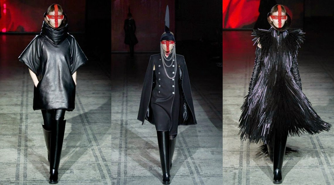 Gareth Pugh AW15 London Fashion Week