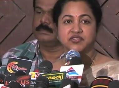 Actress Raadhika Vs Director Ameer Sultan – Small Screen & Big Screen Fight