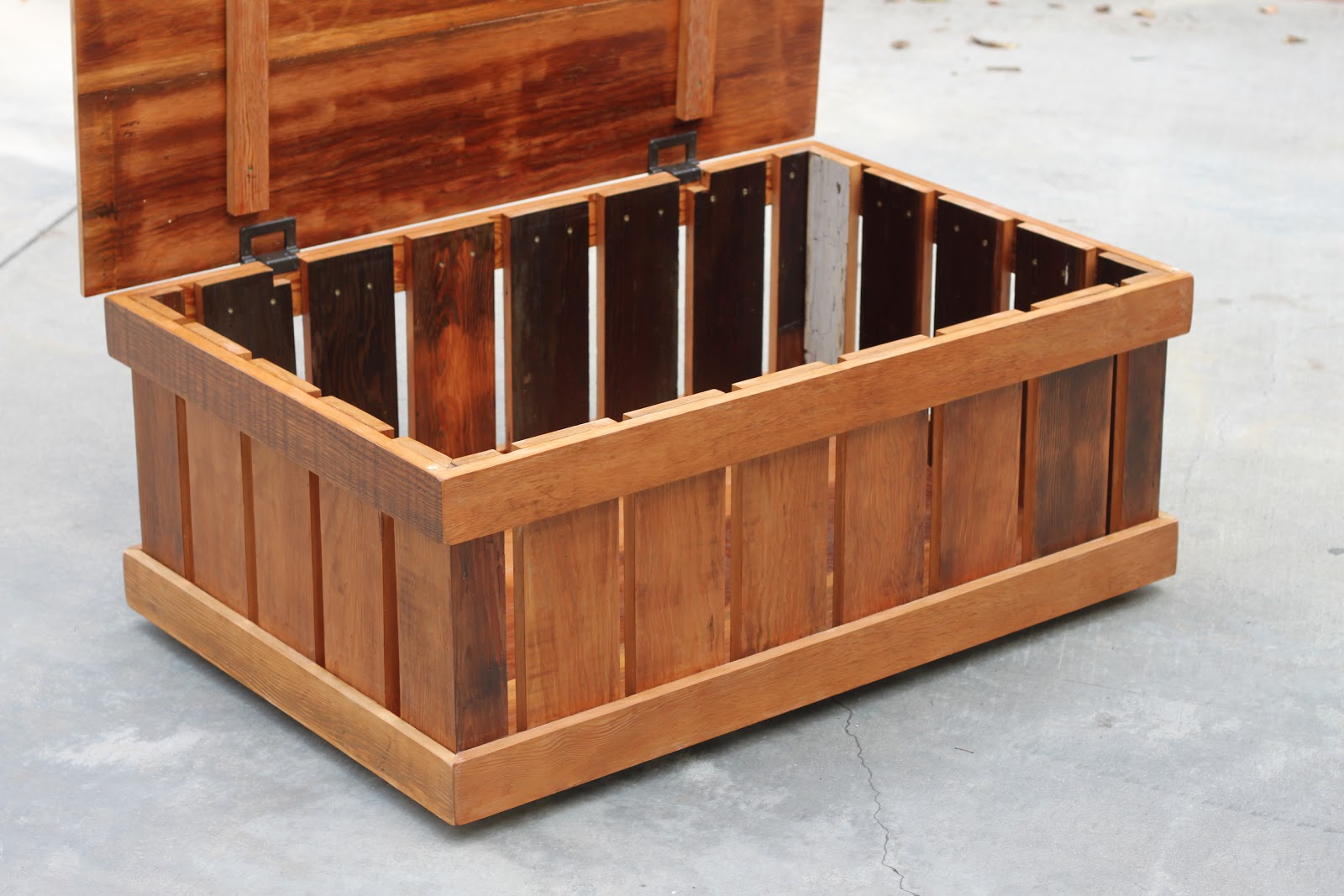 Arbor Exchange Reclaimed Wood Furniture Trunk Coffee Table