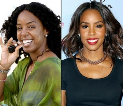 Kelly Rowland Tanpa Make Up