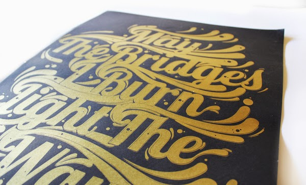 Ben Johnston, One Horse Town and Jason DeVilliers Group Typography Show