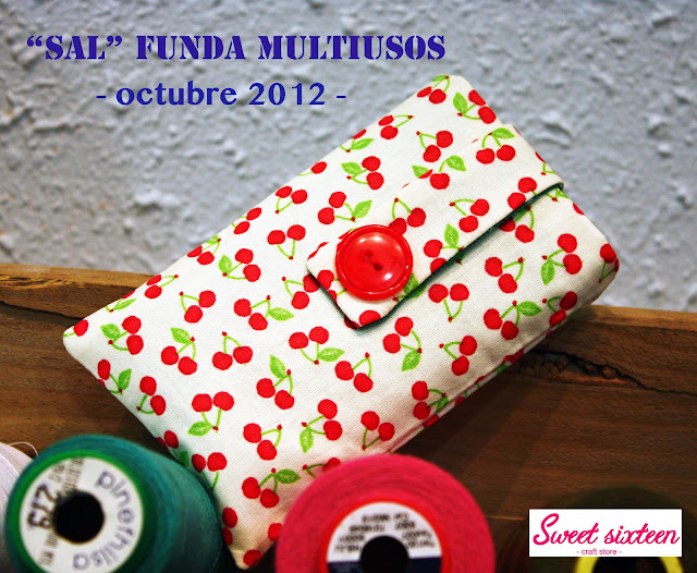 SAL Octubre 2012 Funda Multiusos:Sweet sixteen, craft store, Madrid