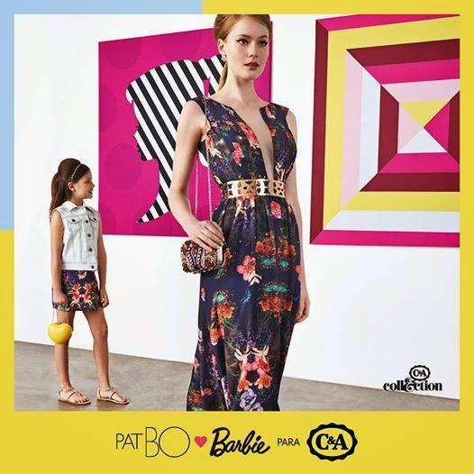 Coleção PatBo Barbie para C&A, fast fashion, coleção especial