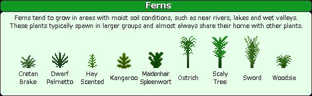 Plant Mega Pack Mod ferns