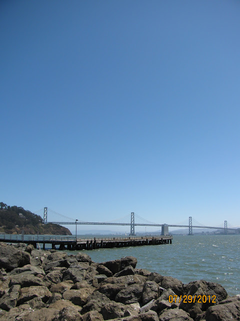 Bay Bridge View from Treasure Island