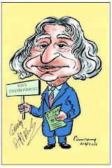Autographed Caricature