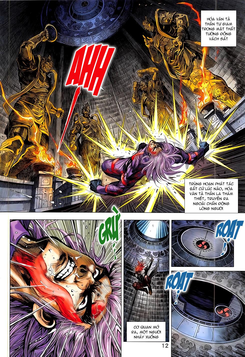 Tân Tác Long Hổ Môn chap 785 Trang 12 - Mangak.info