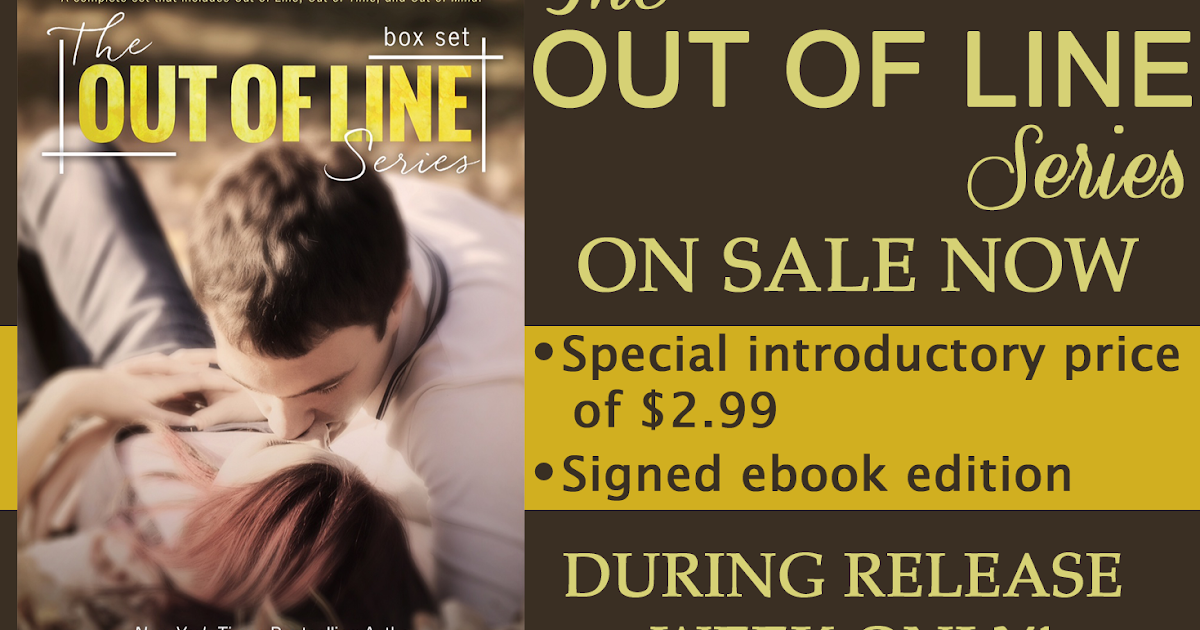 Kindle And Me Release Day Launch Out Of Line Series By Jen
