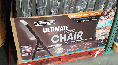 Ensure enough seating for parties with the Lifetime Products Ultimate Comfort Folding Chair