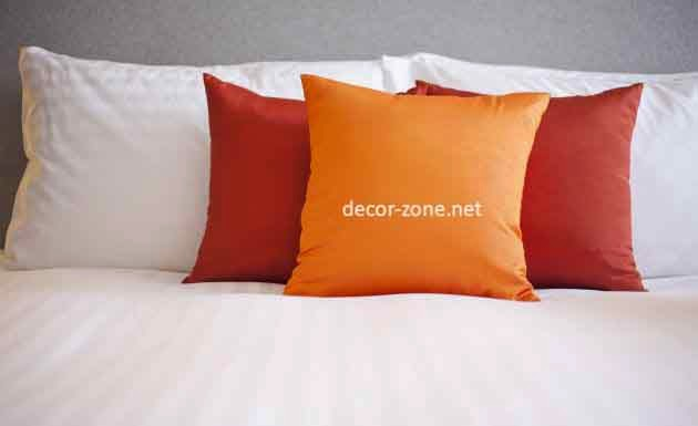 8 modern decorative pillows how to choose - Bedroom decorative pillows ...