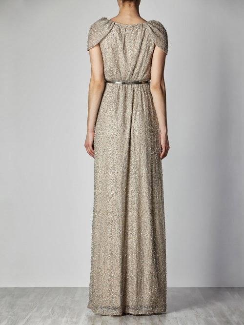 Vestido largo hoss intropia 2013