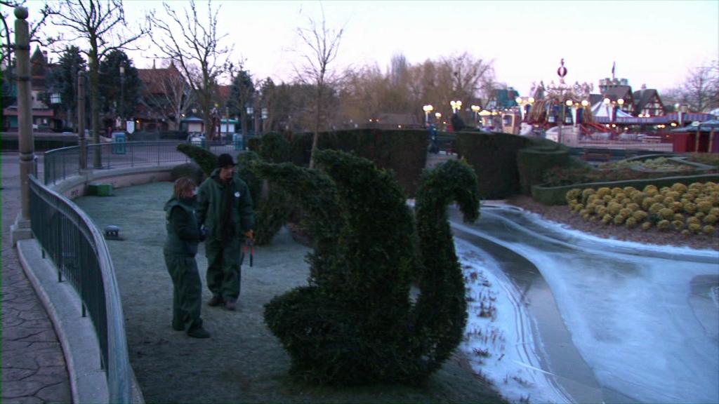 Disneyland Paris gardeners