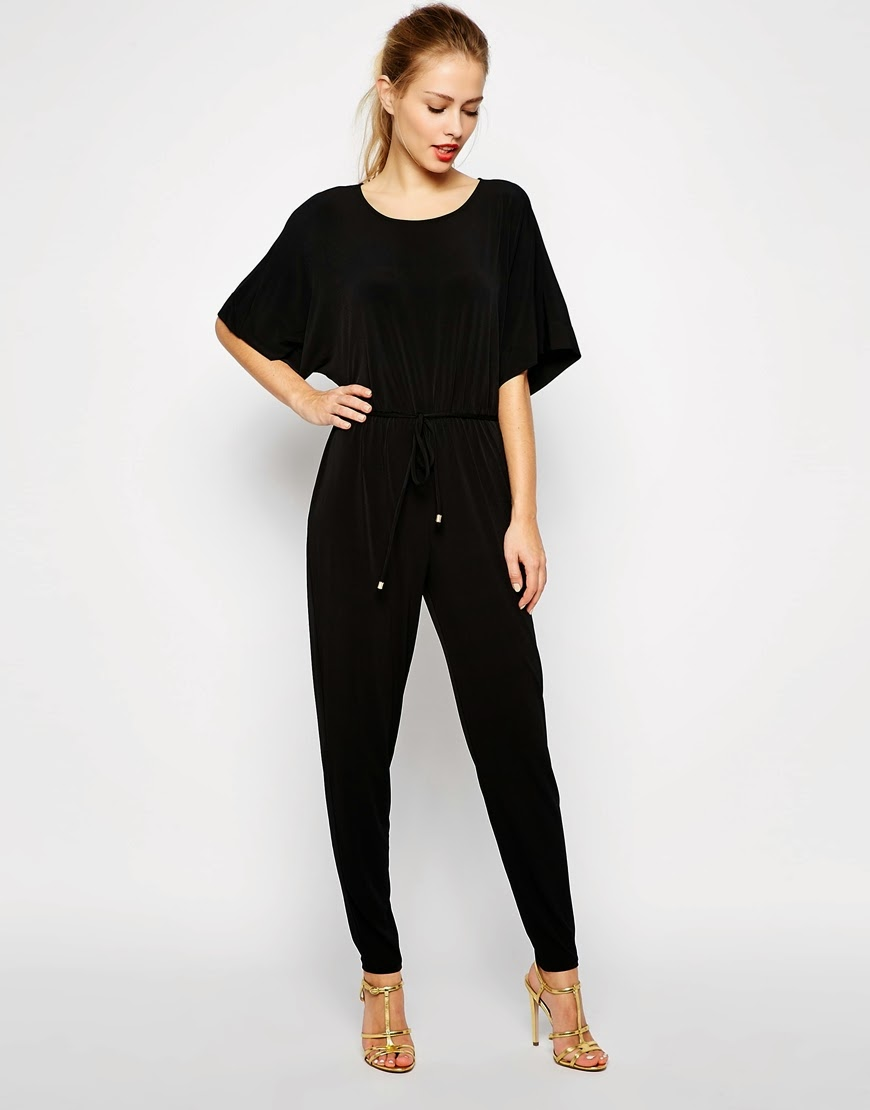 black loose jumpsuit