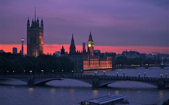Imagenes Big Ben El Puente de Londres en la Noche