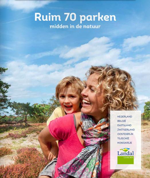 www.landal.nlM1508L 20 procent voorjaarskorting