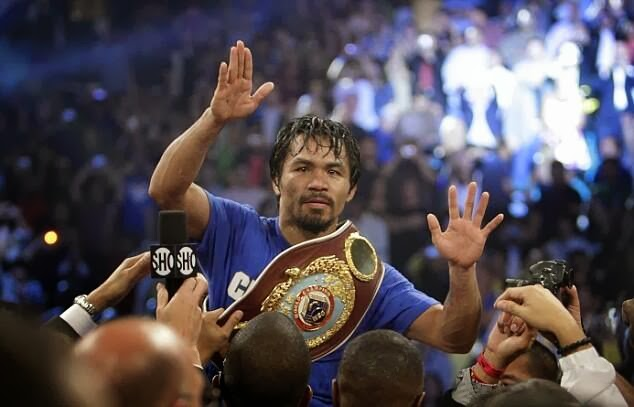 Manny Pacquiao wins against Brandon Rios UD