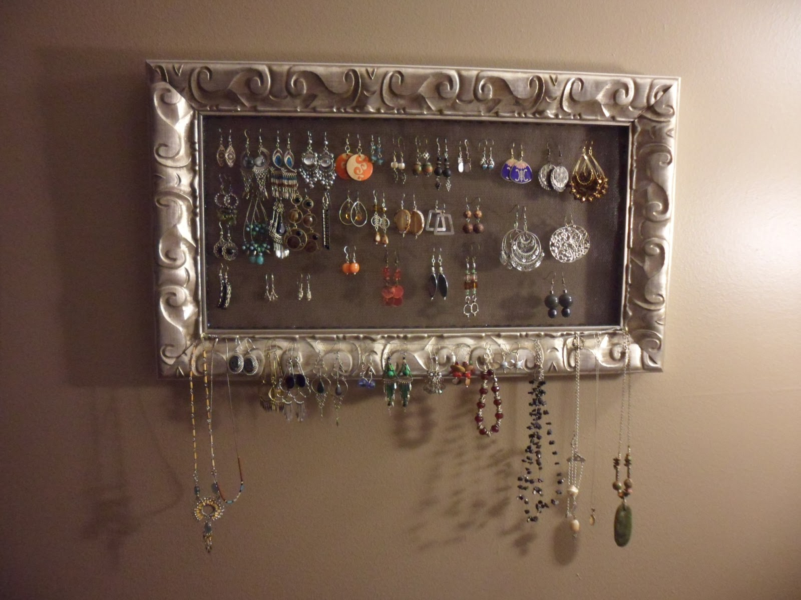 Inside the Studio How to Make a Hanging Jewelry Organizer