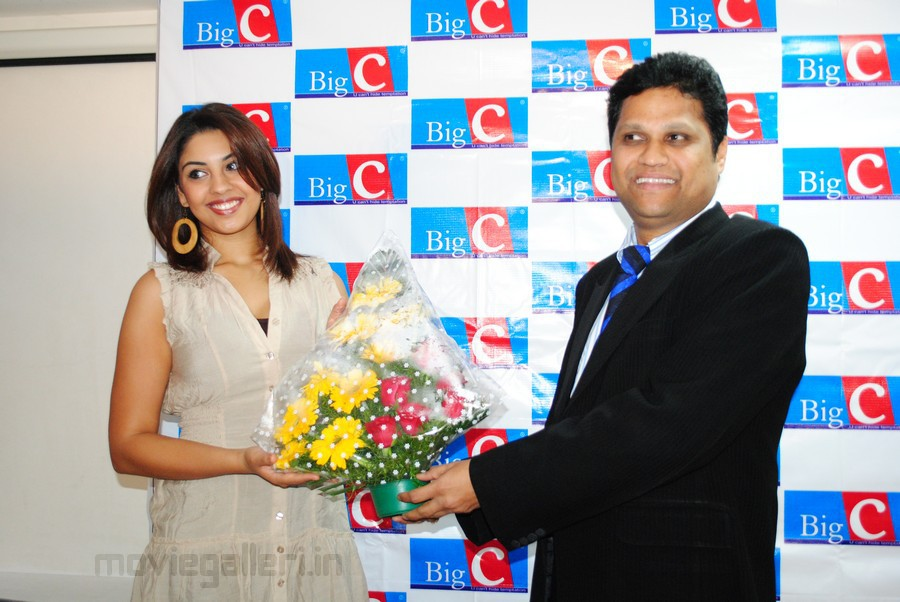 Richa Gangopadhyay at Big C 8th Anniversary Celebrations
