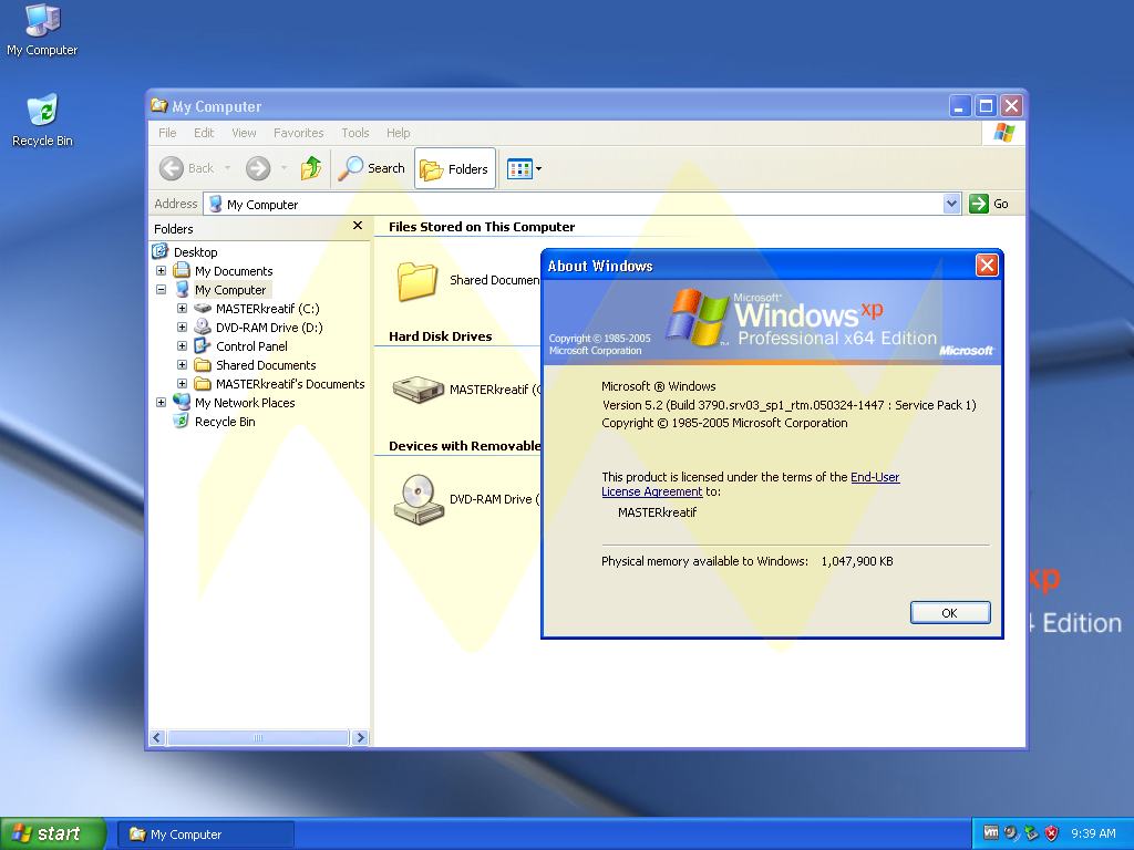 Windows Xp Professional 64 Bit Full Key Masterkreatif
