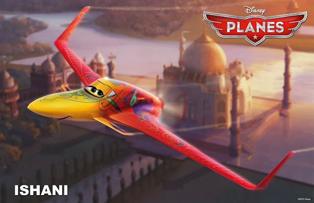 Ishani in Planes