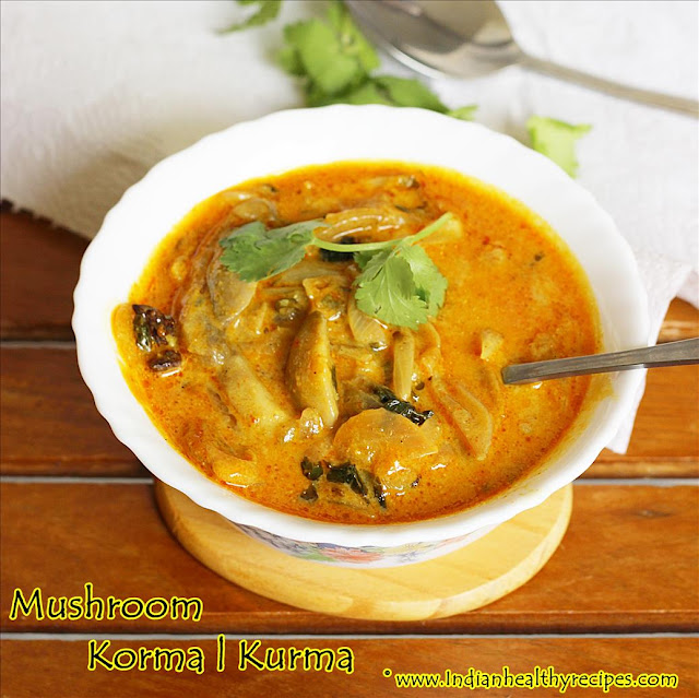 Mushroom Korma