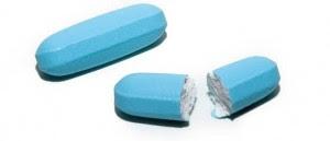 partir los medicamentos