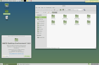 mate desktop 1.6 screenshots