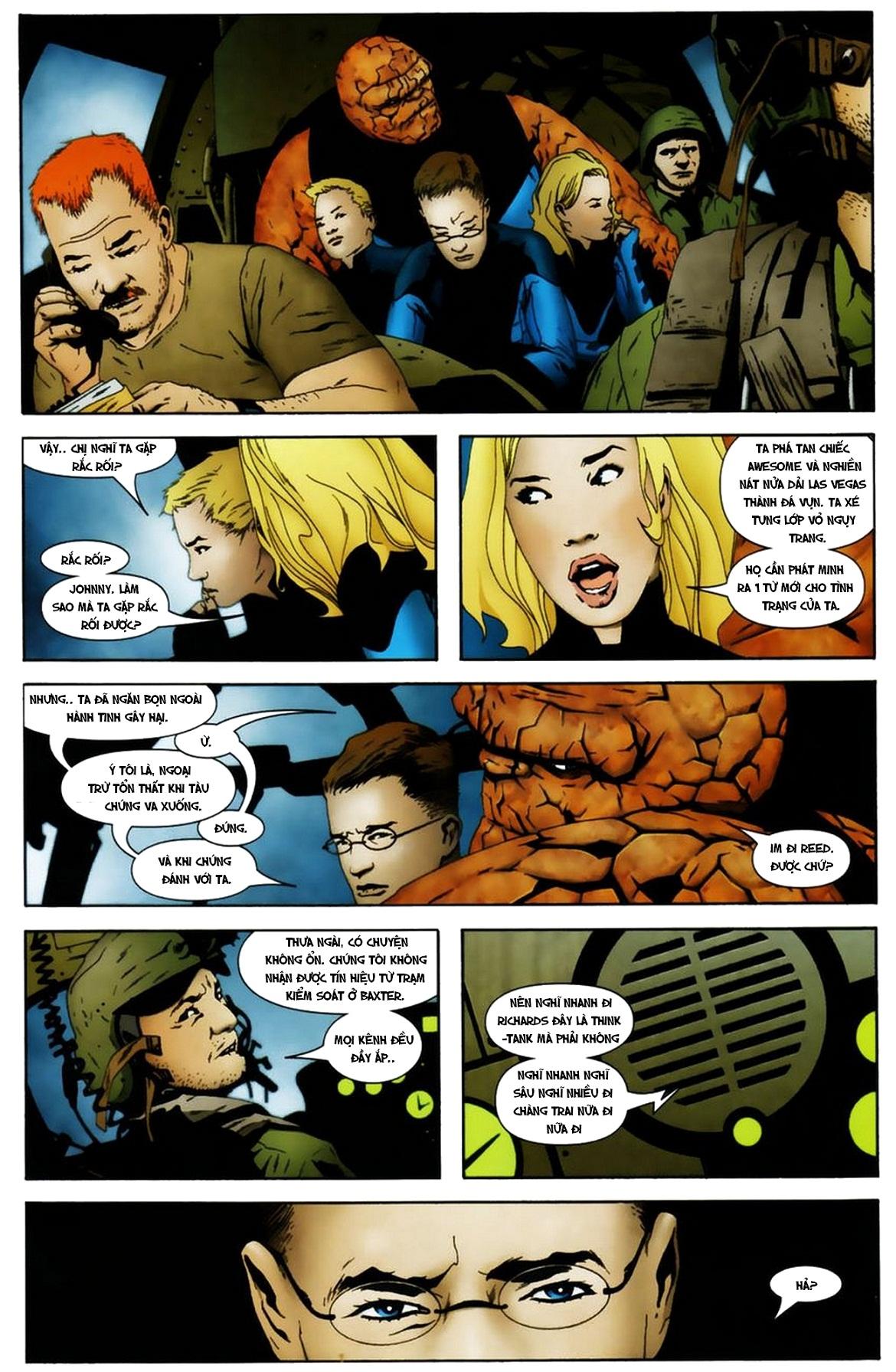 Ultimate Fantastic Four chap 19 - Trang 5