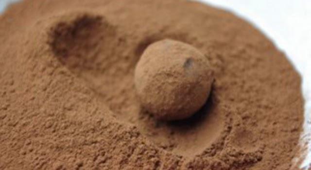 Trufas de chocolate paso 6