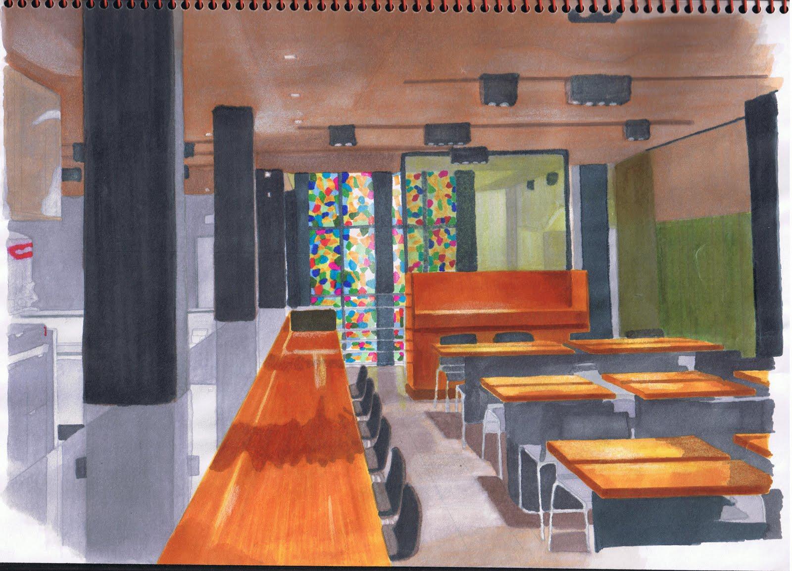 Arquitecto de interiores interior designer bocetos sketches - Arquitecto de interiores ...