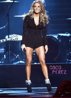 Star At CMA Awards? Carrie Underwood's Legs