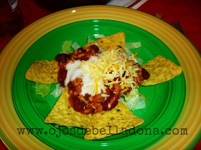 Taco Soup, chili con carne