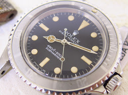 ROLEX SUBMARINER NO DATE 5513 GHOST BEZEL
