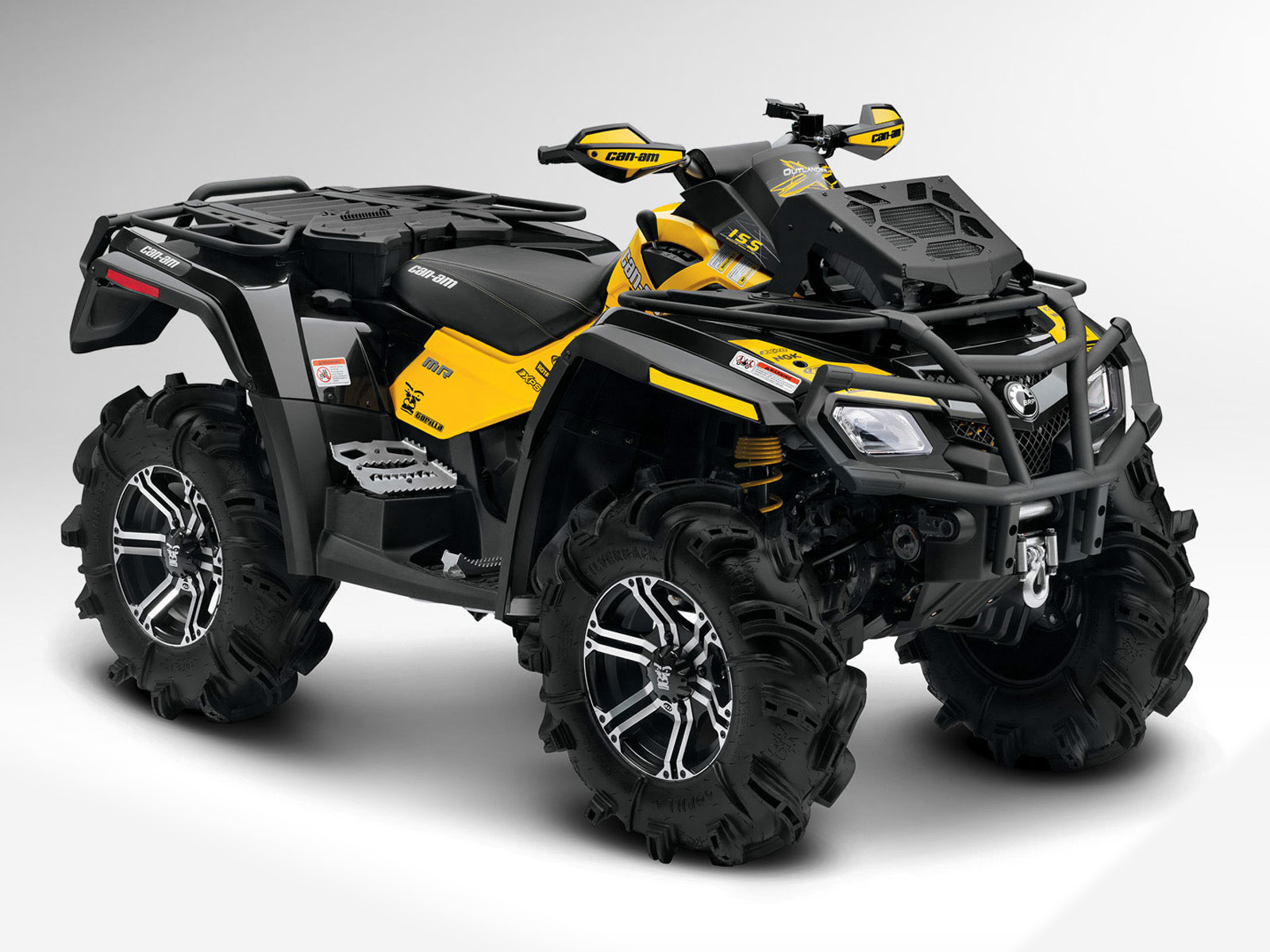 2012 can am outlander 800r x mr atv pictures specs. Black Bedroom Furniture Sets. Home Design Ideas