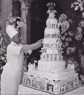Grace Kelly and Prince Rainier, Wedding Cake