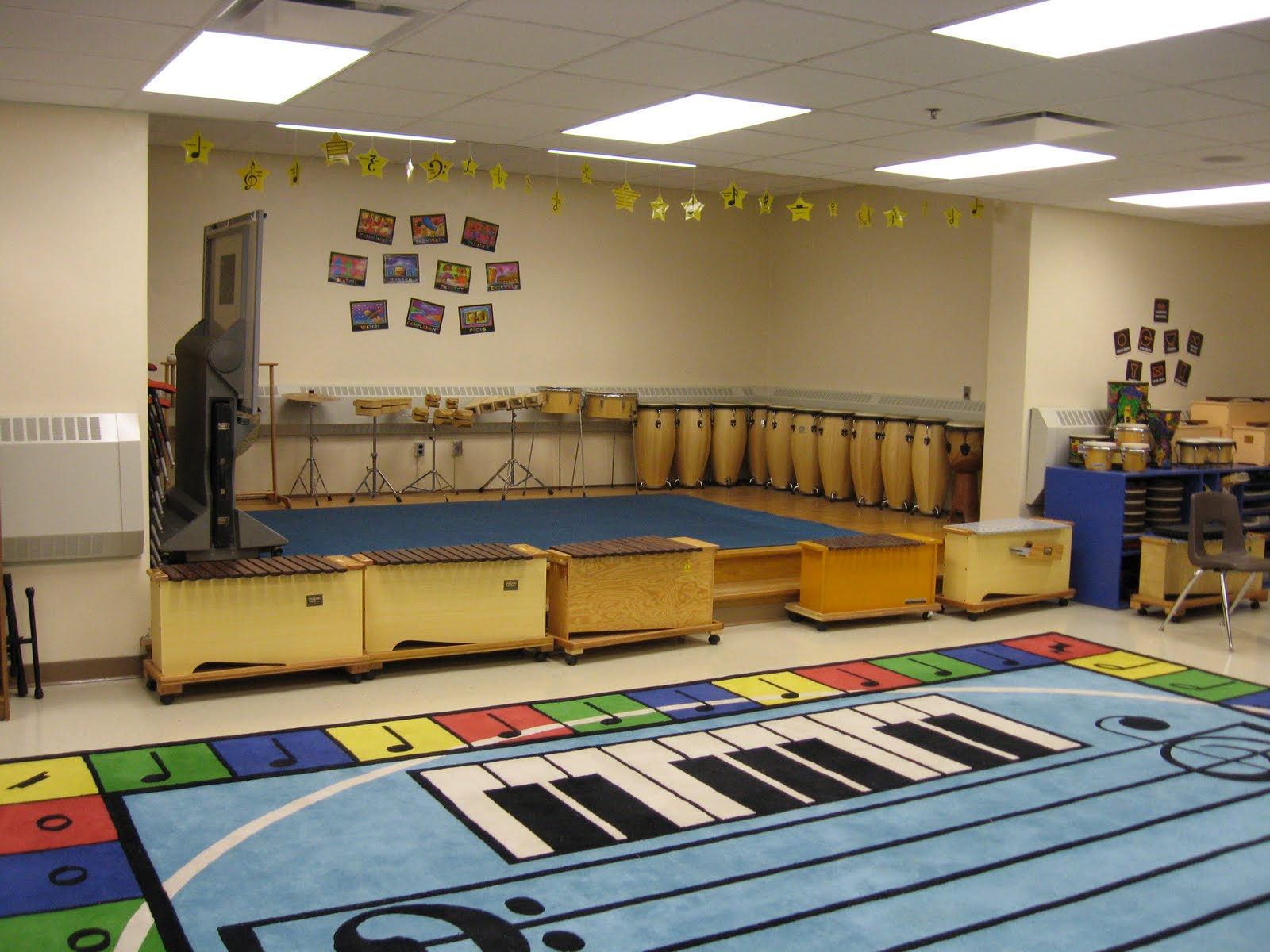 Music Classroom Design Ideas ~ Music at bert raney elementary pictures of the classroom