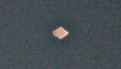 Diamond UFO Caught Over Newmark 2015, UFO Sightings