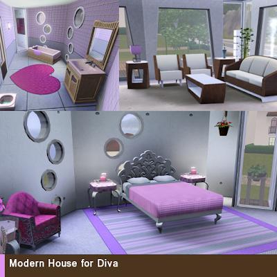 Modern House for Diva 3