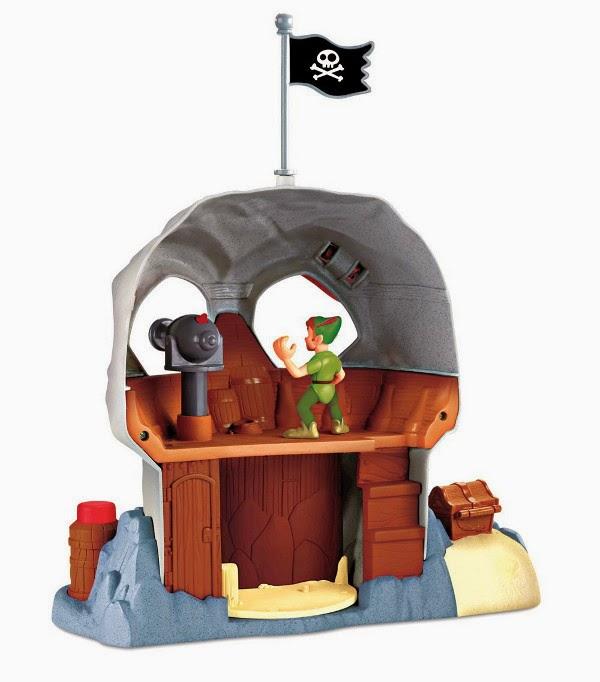 JUGUETES - Fisher-Price  DISNEY Jake y los Piratas de Nunca Jamás  Roca Calavera  Producto Oficial | Mattel | A partir de 3 años