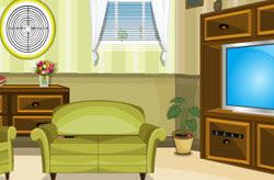 Green Sitting Room Escape