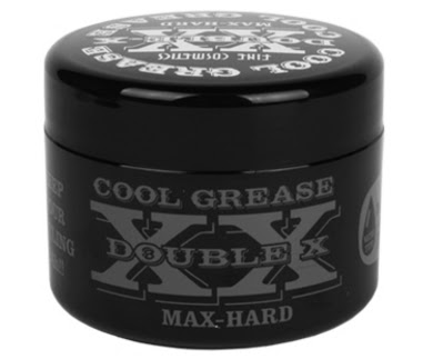 Cool Grease Double-X XX Max-Hard Pomade for Hair