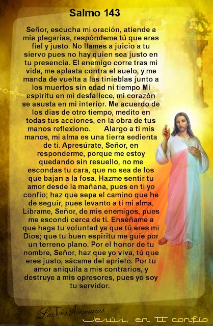 el salmo 143 de la biblia