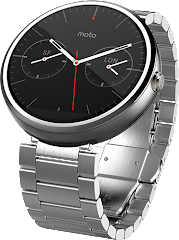Moto 360 Stainless Steel Silver