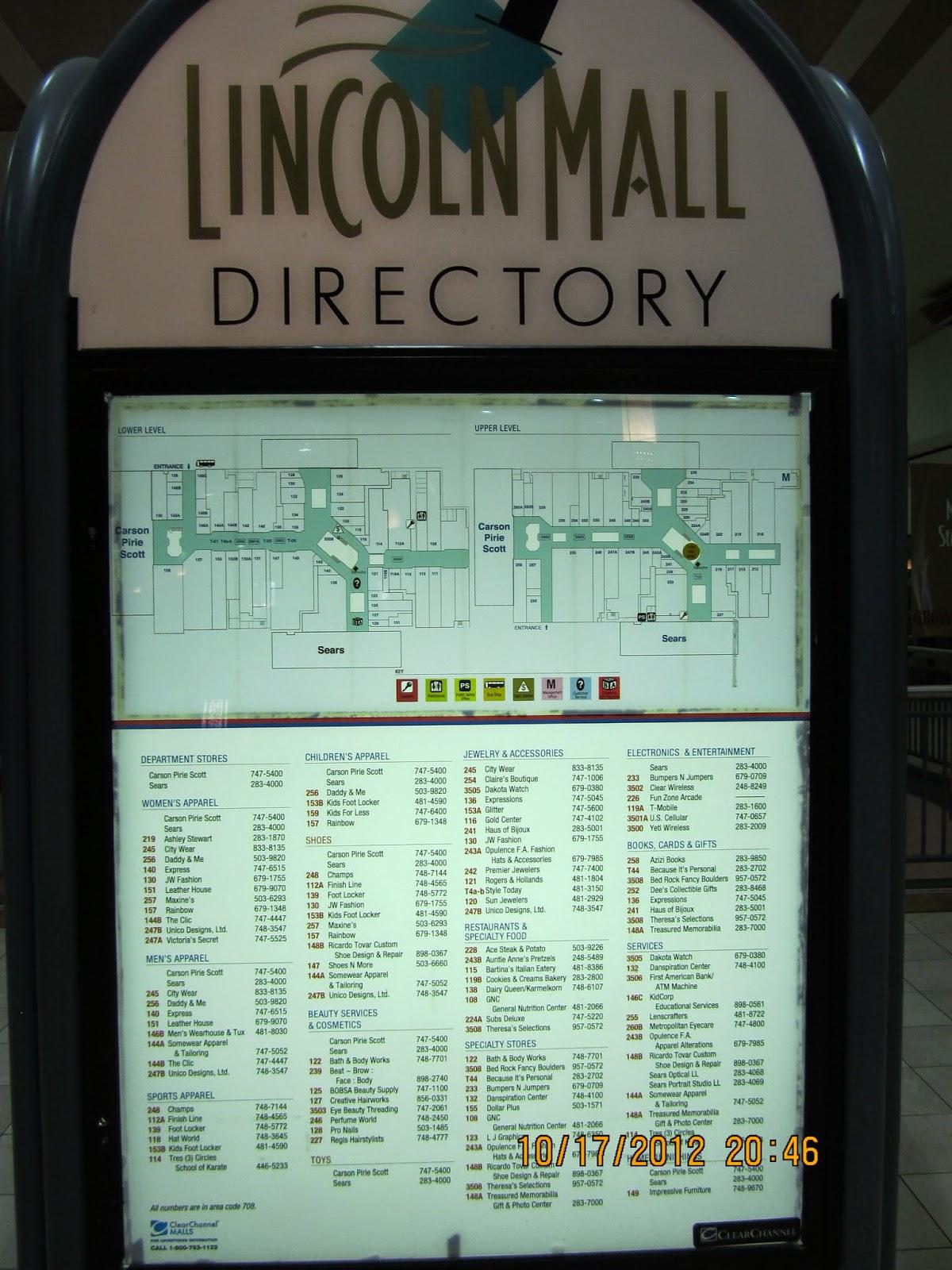 Trip To The Mall Lincoln Mall Matteson Il