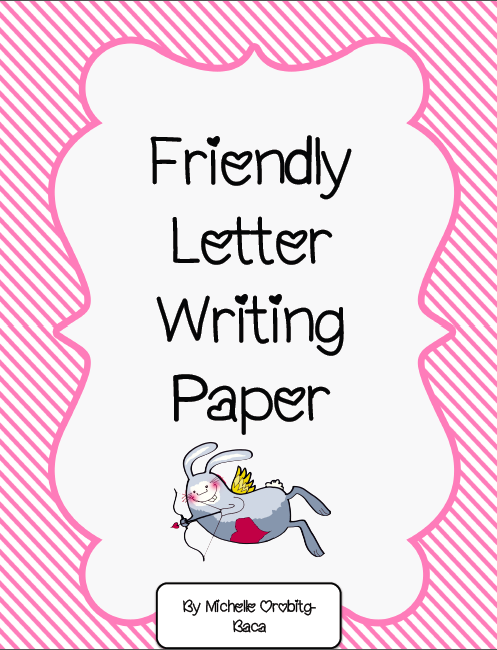 Mrs. A-Colwell's Class: Valentine's Day Friendly Letter FREEBIE