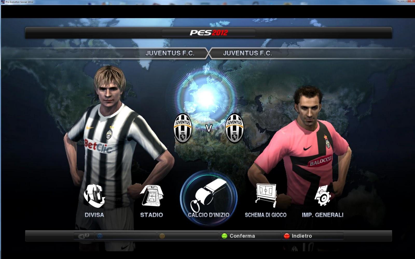 Pes 2012 , Foto Juventus - Juventus Stadium !